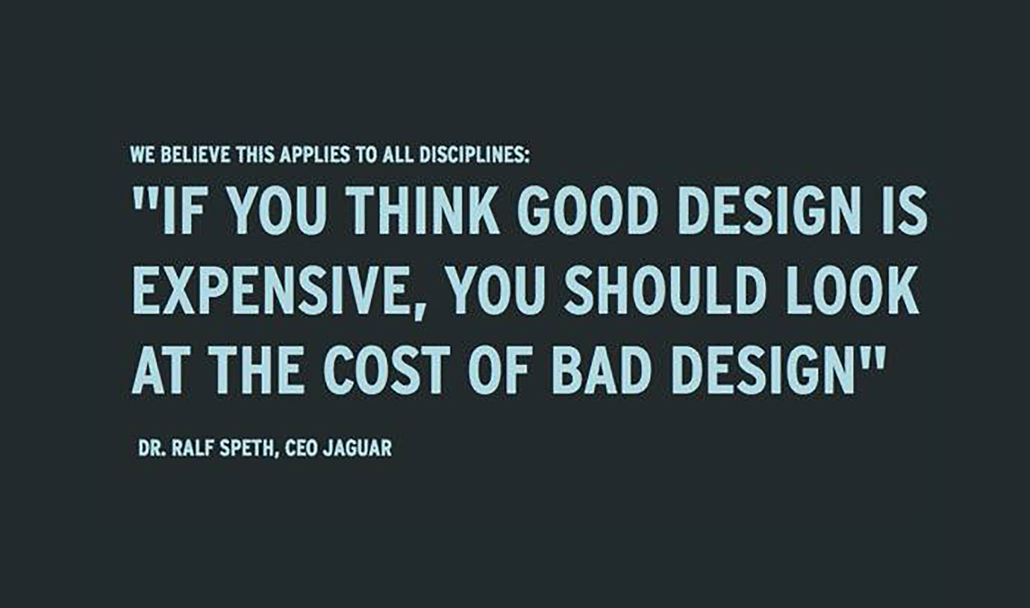 In Your Business Apply Design Thinking And Not Quality Assurance Florijn S Blog